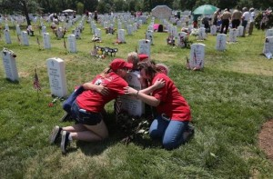 """Good Grief"" Camp Counsels Children Of Fallen Military Personnel"