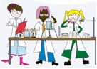girl science 1-14